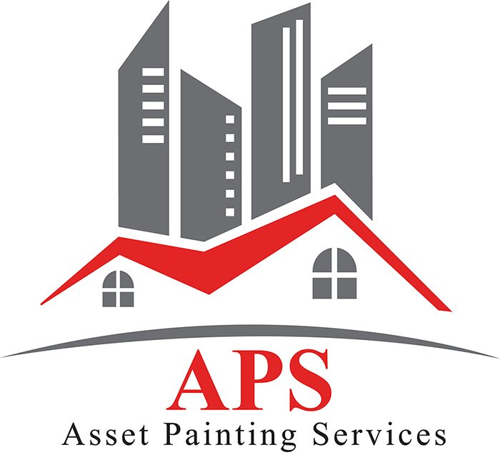 asset painting services business logo