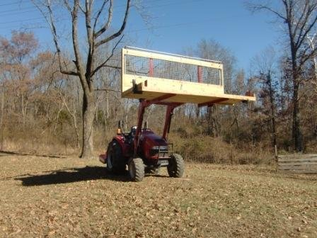 Tractor bucket alternative