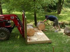Loading heavy logs