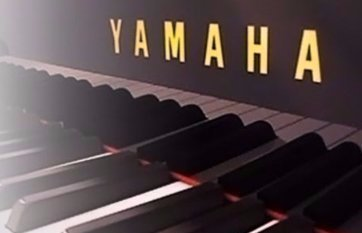 piano in a concert