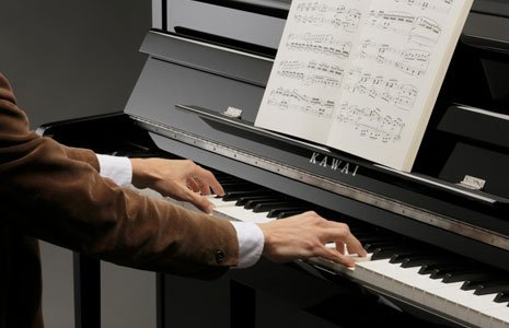 domestic piano