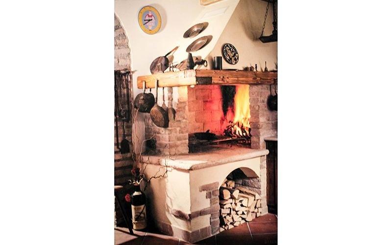 Forno rustico murato da cucina