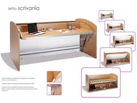 win bed Letto Scrivania