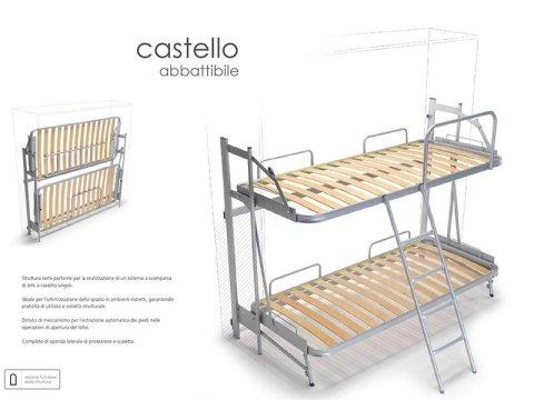 win bed letto a castello abbattibile