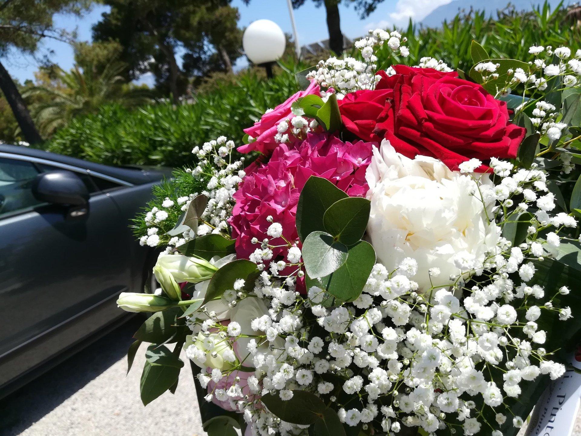 Bouquet di rose eleganti