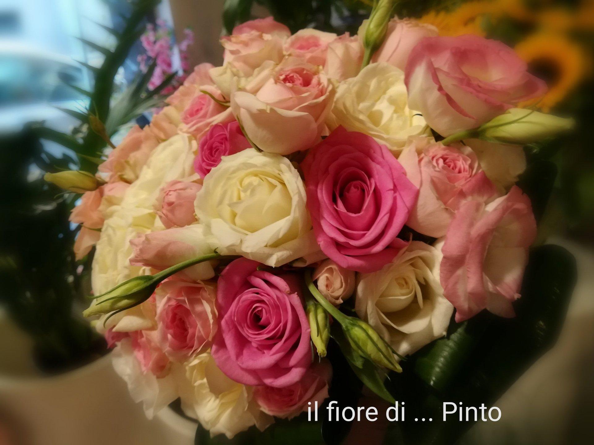 Bouquet di rose miste