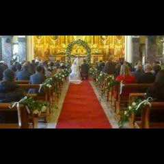 Addobbi floreali per cerimonie religiose