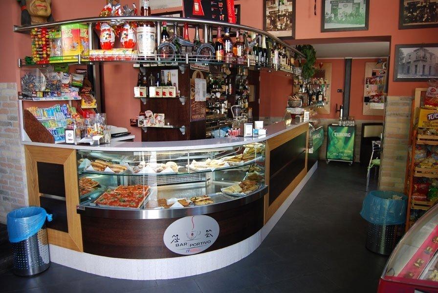 bancone bar refrigerato