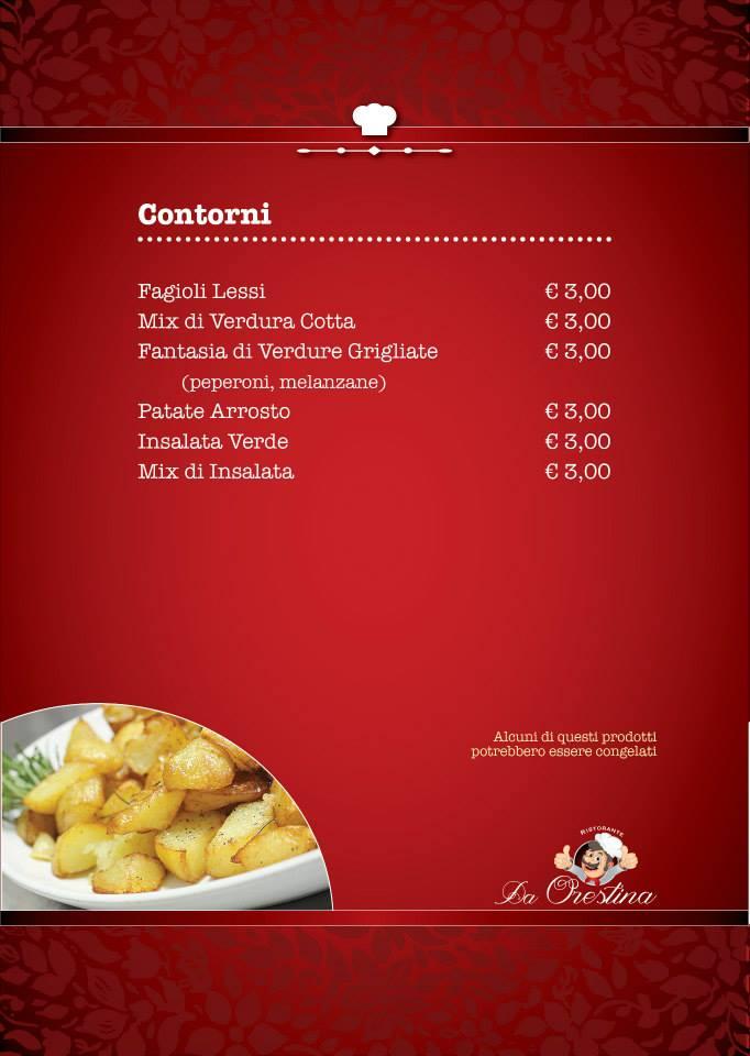 menu contorni
