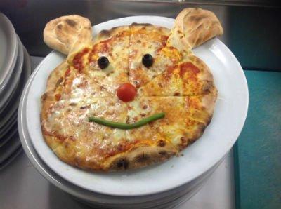 Pizza topo speciale per bambini
