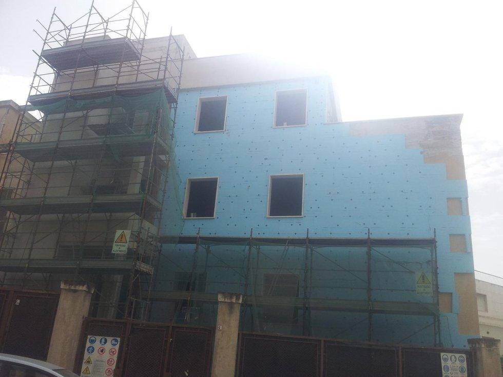 Ristrutturazione edificio via Brescia