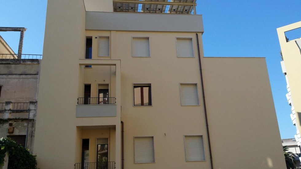 Ristrutturazione palazzo a Cagliari