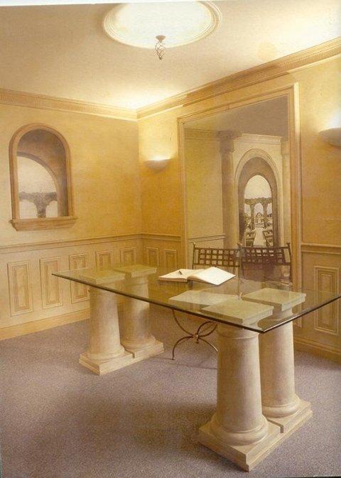 Realizzazione decorazioni pareti Gemi edilizia