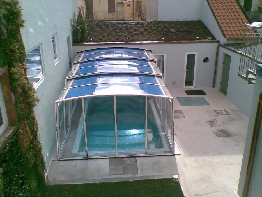 Realizzazione piscina lavoro terminato