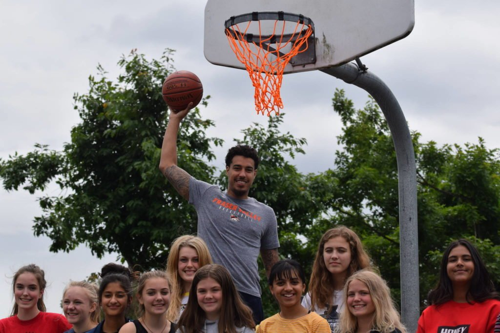 Fraser Valley Bandits Helping Creating Better Places To Play Basketball