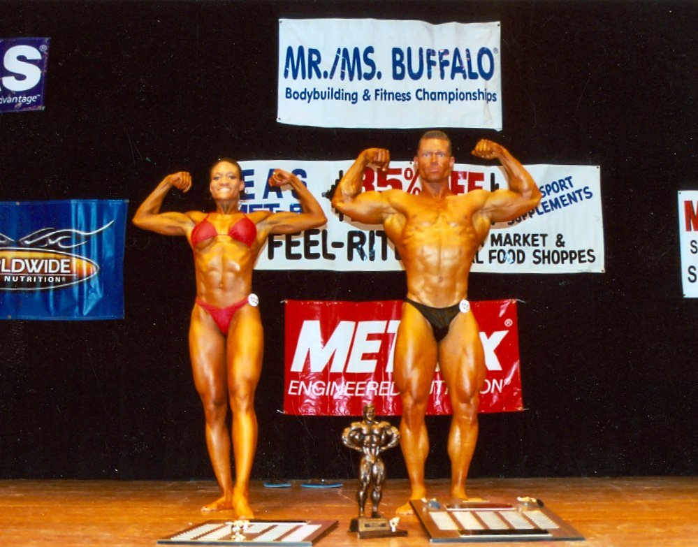 Overall Bodybuilding Winners: Audra King and William Weishaupt