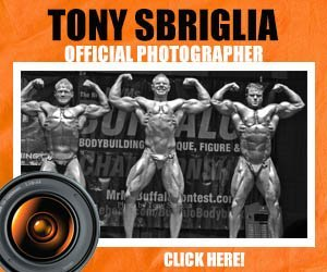 Mr and Ms Buffalo Sponsor, Tony Sbriglia Photography
