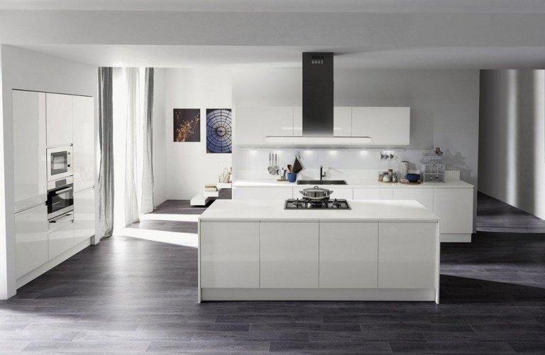 Cucina Aran bianco lucido