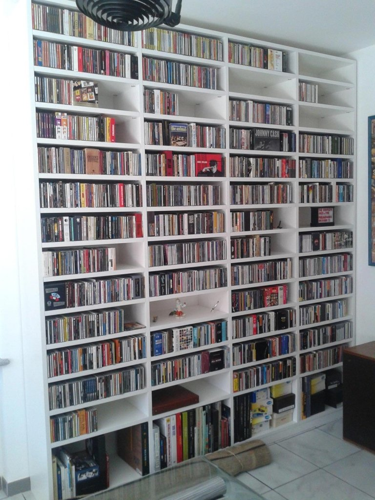 Libreria su misura in laminato