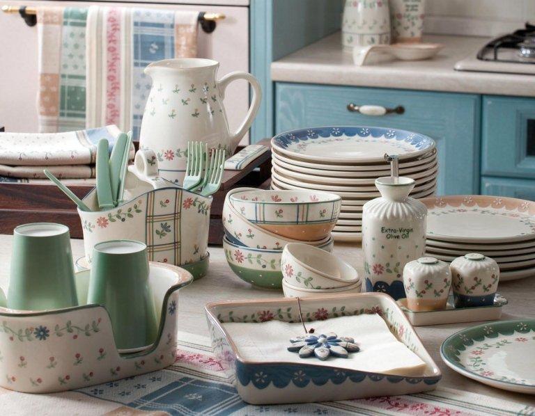 Ceramica decorata a mano Wald collezione Felice nostalgia