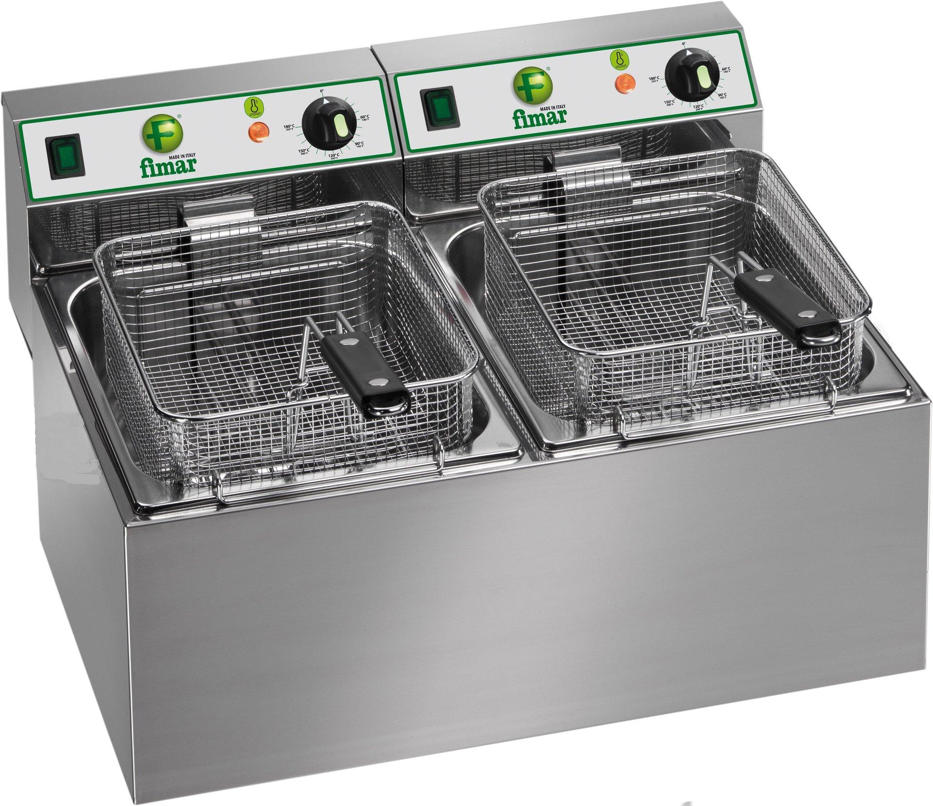 doppia friggitrice