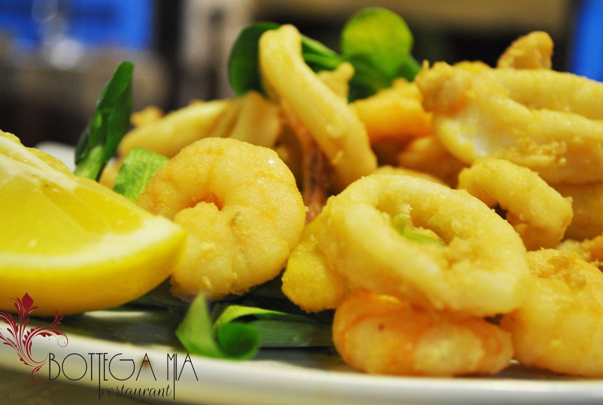 Piatti del ristorante Bottega Mia a Torino