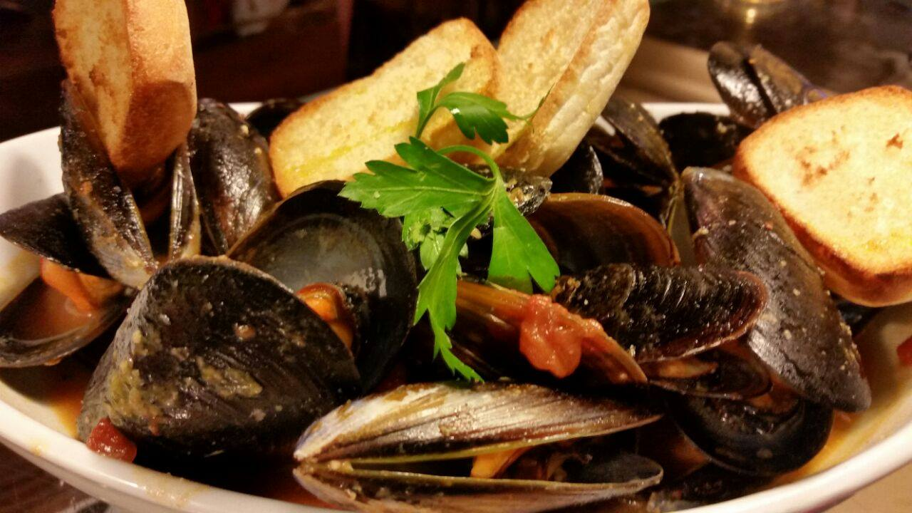 Cozze e altri frutti di mare