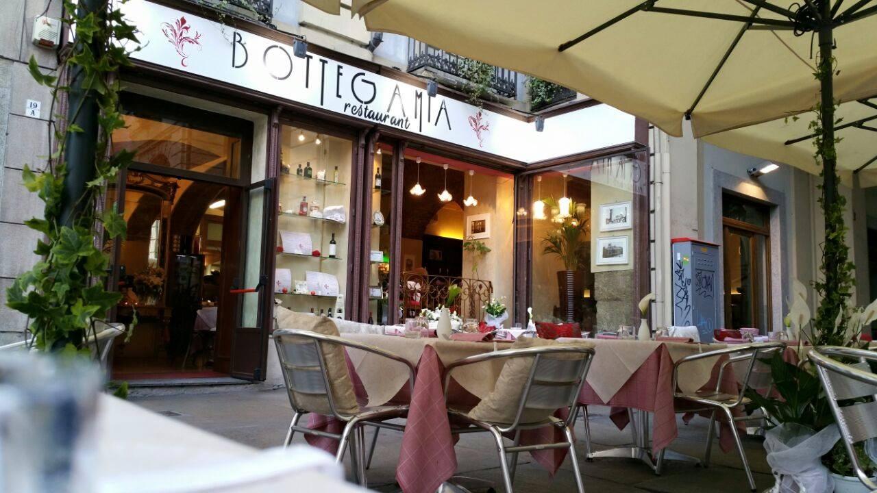 Esterni del Ristorante Bottega Mia a Torino