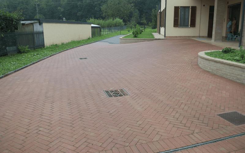 Posa pavimenti esterni oggiono