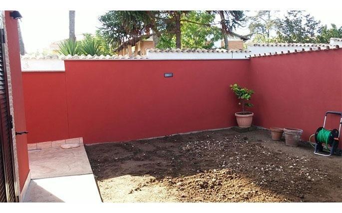 Costruzione villette con giardino
