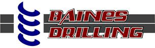 baines drilling business logo