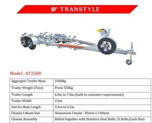 Transtyle trailers AT 2500