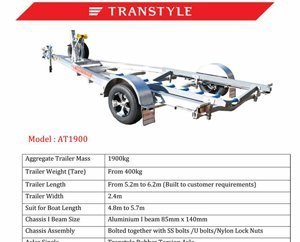 Transtyle trailers AT 1900
