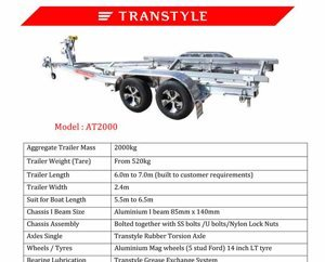 Transtyle trailers AT 2000