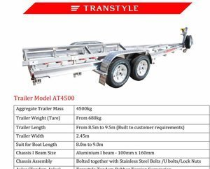 Transtyle trailers AT 4500