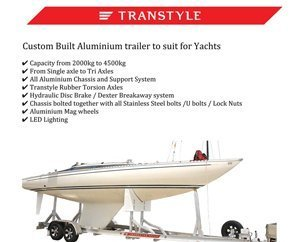 Transtyle trailers yacht