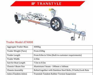 Transtyle trailers AT 4000