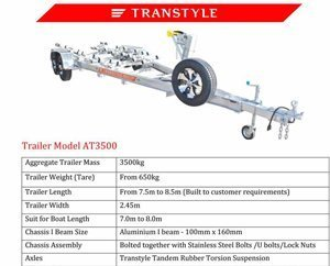 Transtyle trailers AT 3500