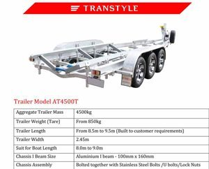 Transtyle trailers AT 4500T