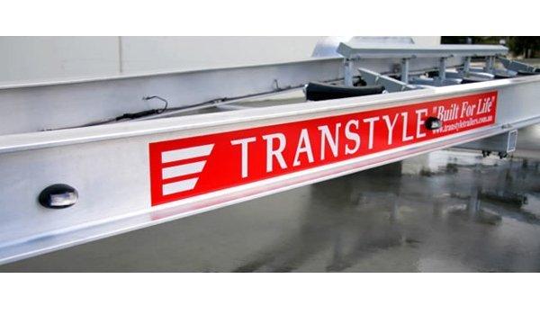 Transtyle trailer aluminium boat trailers