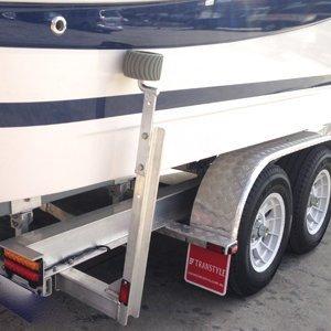 Transtyle trailers model wheel