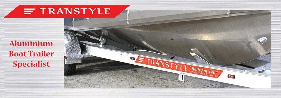 Transtyle trailers aluminium trailer