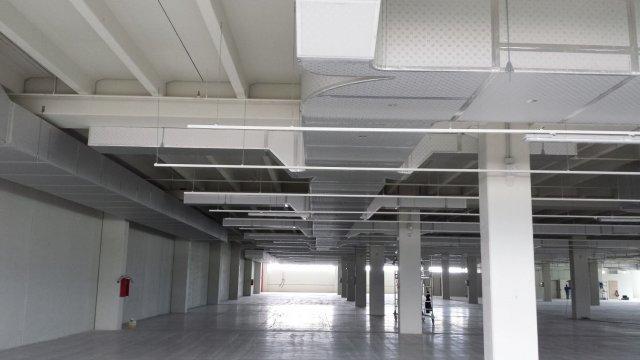 Vista generale dell'installazione