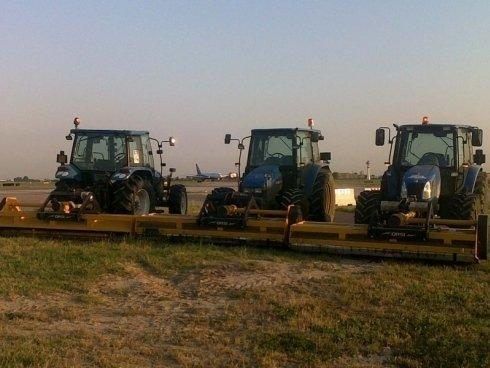 trattori mietitori