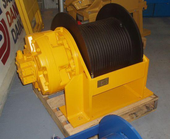 6 Tonne Hydraulic Winch IM-6TFF-001