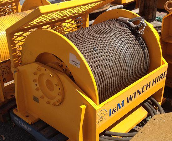 15 Tonne Hydraulic Winch IM-15INI-00X