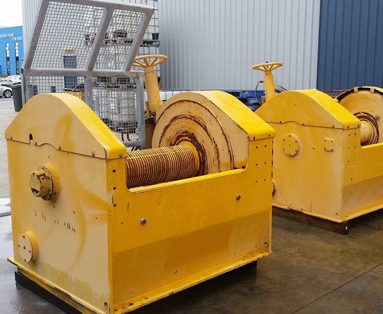 15 Tonne Hydraulic Winch IM-15T-00X