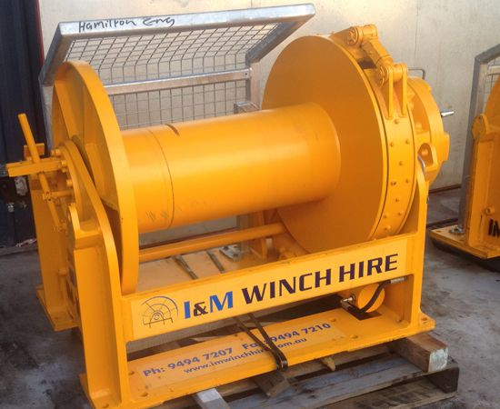 10 Tonne Hydraulic Winch IM-10TM-00X