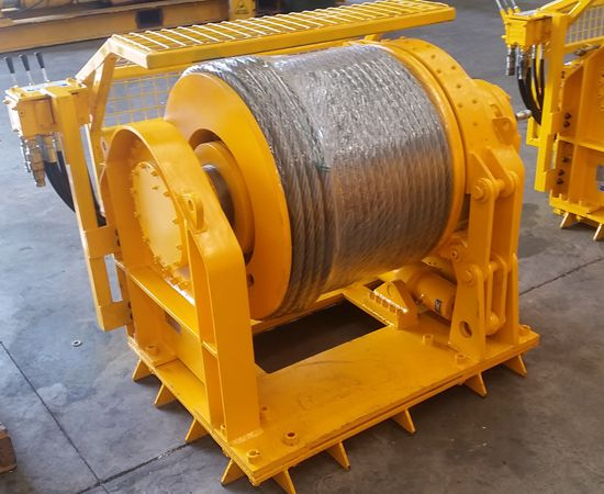 10 Tonne Hydraulic Winch IM-10TM-00A