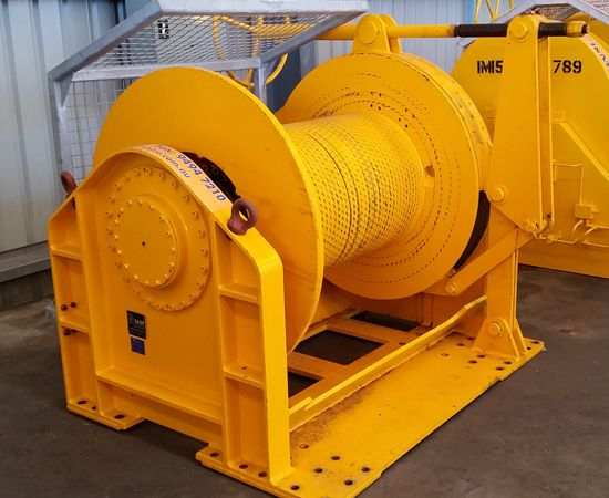 20 Tonne Hydraulic Winch IM-20TM-001